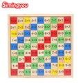 Simingyou Многоцелевой Цифровой Головоломки Для Детей Развивающие Монтессори Деревянные Игрушки SG05