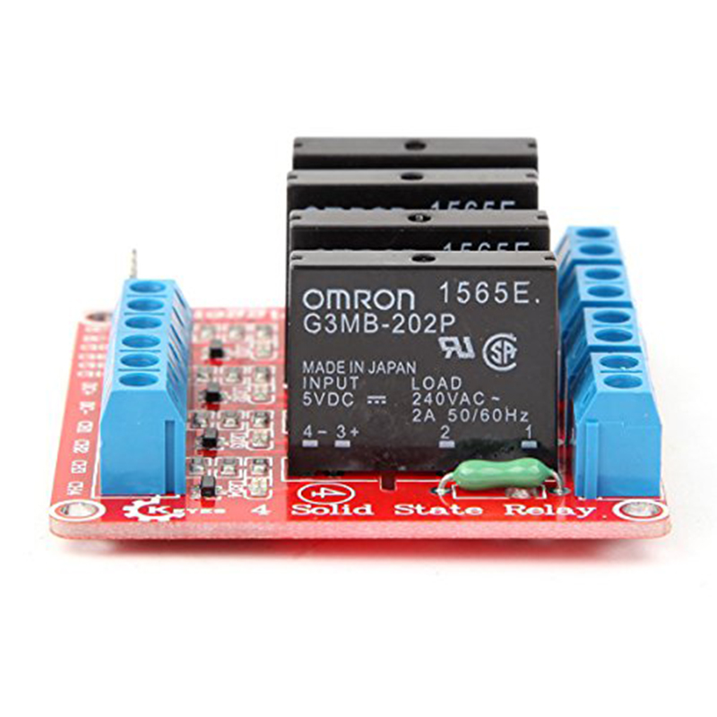 1 pcs Four way Solid State Relay Module For Arduino