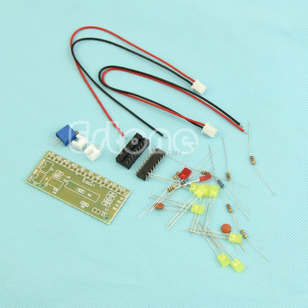 Low Price Lm3915 Audio Level Indicator Electronic Production Suite Circuit Diy Kit Part Components