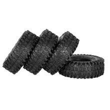 AUSTAR – pneus à chenilles pour Traxxas Redcat SCX10 AXIAL RC4WD TF2 RC, 5020 pouces, 1.9mm, 4 pièces, AX-120