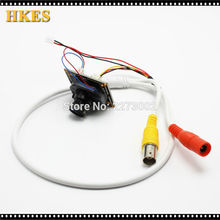 HKES 80pcs/Lot 2.8mm Lens Wide Angle Mini AHD Camera Module 960P CCTV Camera Security