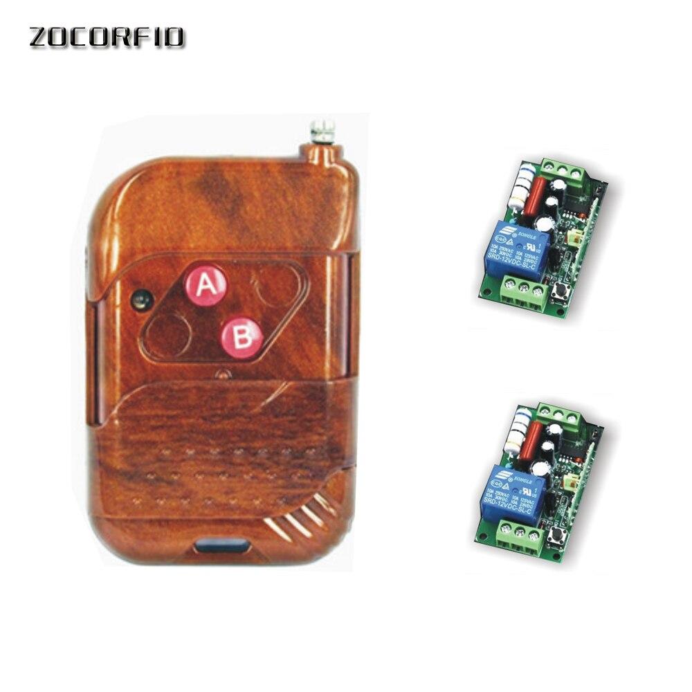 YZIF VOYE Sonnette sans fil 2 r/écepteurs 1 bouton sonnette