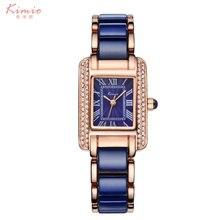 2016 New KIMIO Luxury Jewelry Ladies Quartz Watch Dress Fashion Casual Women Watches Roman Numerals Rhinestone Bracelets Watches