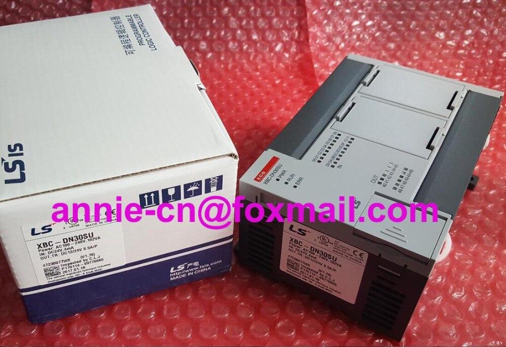 100% New and original  XBC-DN30SU  LS(LG)   PLC controller  original and 100