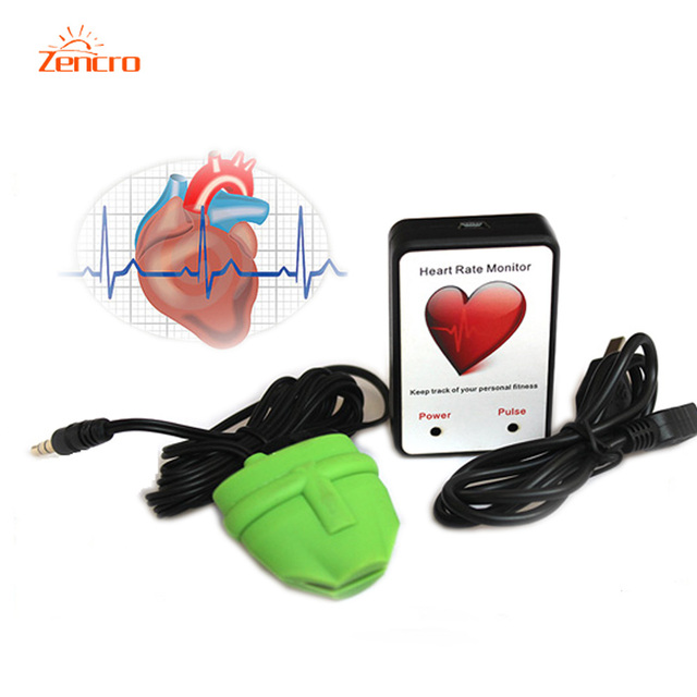 ZENCRO Wholesales Finger Pulse USB Heart Rate Meter free shipping