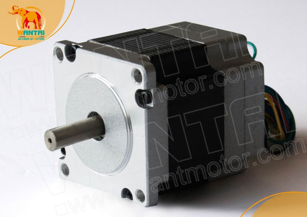 (German Ship & No Tax) Factory Directly ! Brushless DC Motor 125W, 24VDC, 3000RPM rated speed 57BLF02 model, CNC Rounter