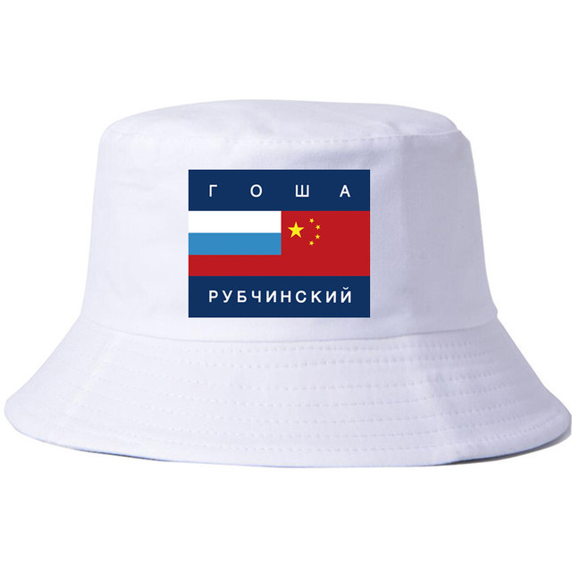 Ebay Explosion Models Flag Cotton Print Wild Flat Top Hat Fisherman Hat Men  And Women Couple 4cb131624ac
