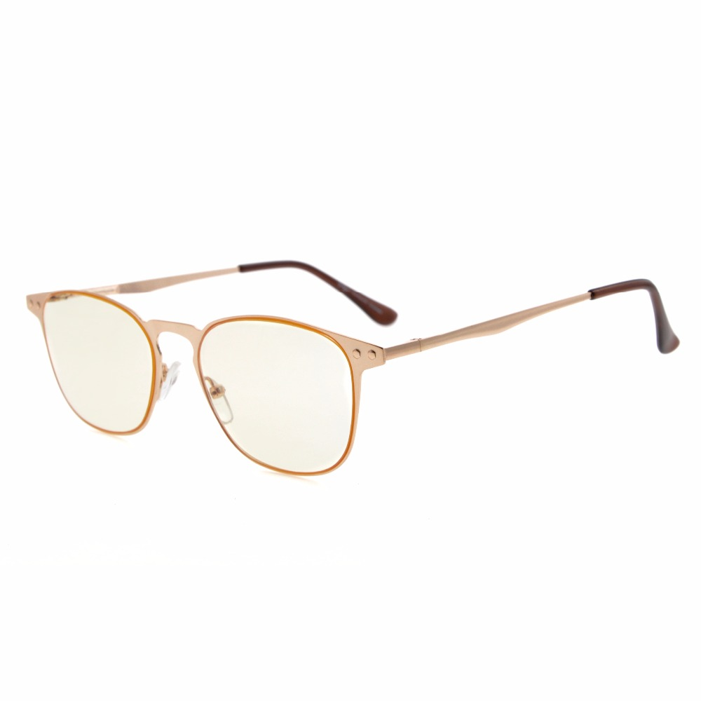 Amber Tinted Prescription Glasses