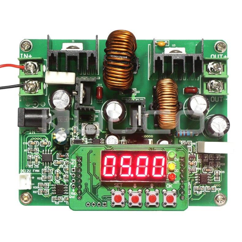 240W NC Voltage Regulator Buck Boost Converter DC 10~40V to 0~38V 6A Power Supply Module DC12V 24V Adapter/Driver nc dc dc dc adjustable voltage regulator module integrated voltage meter 8a voltage stabilized power supply