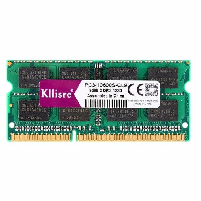 Kllisre DDR3 4GB 8GB 1333Mhz 1600Mhz SO-DIMM Notebook RAM 204Pin Laptop Memory