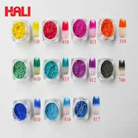 thermochromic pigment,temperature sensitive pigment,thermochromic powder,color:red,orange,grass green,etc..