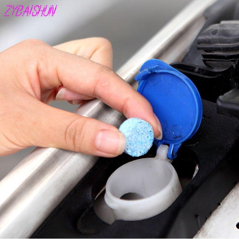 6 Stks. Nieuwe Voorruit Cleaner Veilig Compact Soda Tablet Voor Citroen Peugeot 206 207 208 301 307 308 407 2008 3008 4008