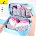 Bolsa de viaje para la ropa interior recibe el bolso de nylon impermeable de moda 3 colores tamaño lagre underwear organizador 1 unids envío libre 16622