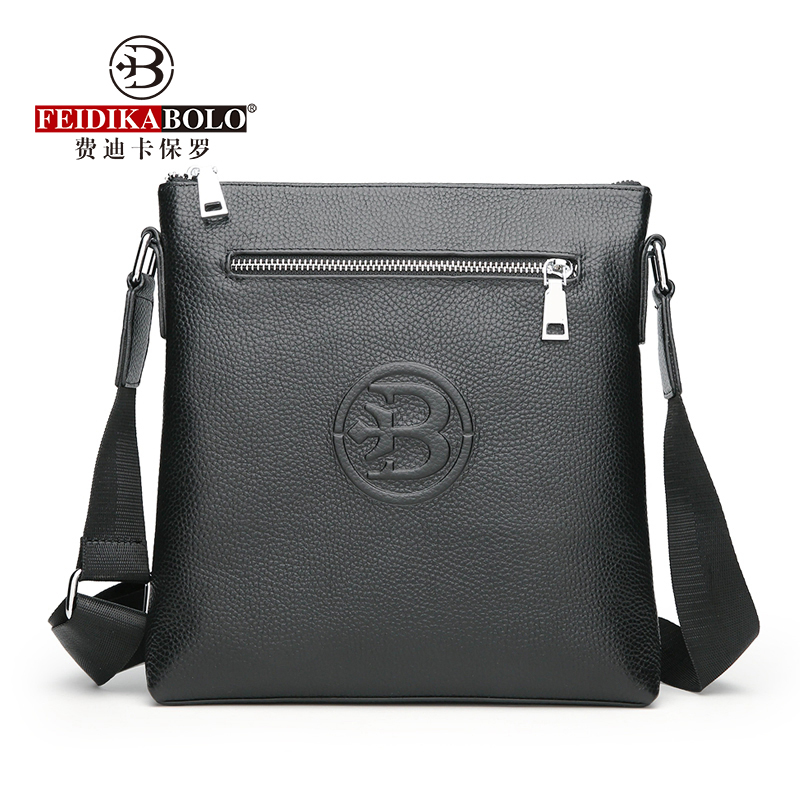 FEIDIKABOLO New Men's Shoulder Bag Fashion Simple Personality Business Computer Bag Casual High Quality Messenger Bag