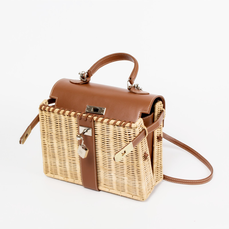 2019 the New Handmade high quality Rattan Bag Large Capacity Womens Woven Holiday Package2019 the New Handmade high quality Rattan Bag Large Capacity Womens Woven Holiday Package
