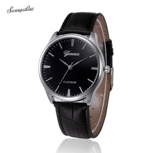 Excessive High quality Ladies Watches Retro Design Leather-based Band Analog Alloy Quartz Wrist Watch wholesale v