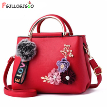 FGJLLOGJGSO Hot New Fashion Flowers Bag Women Handbag Lady messenger Shoulder Trend Small Hand Female tote Famous Brands