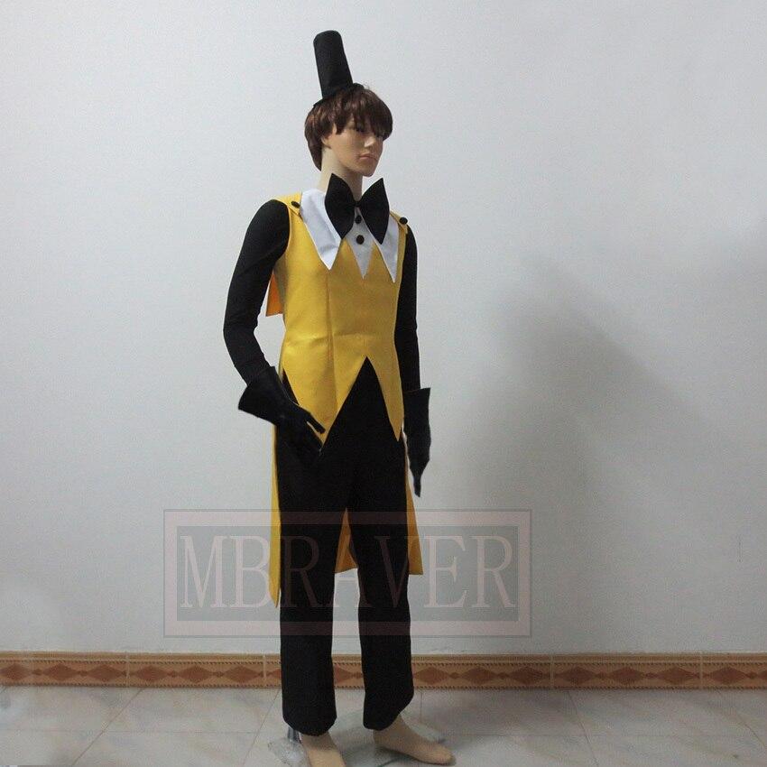 Gravité tombe Bill Ciphe fête de noël Halloween uniforme tenue Costume Cosplay personnaliser n'importe quelle taille - 4