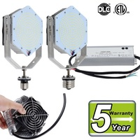 DLC UL Retrofit Kits Led Light E40 E39 E27 E26 60W 100W 120W 150W LED Street Lights CREE Chip MeanWell Driver AC 110 277V