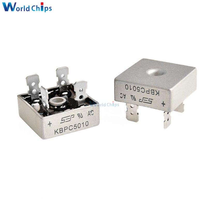 Assortimento di diodi raddrizzatori elettronici ad alta efficienza 100Pcs 10Values Assortimento di diodi 1N4001~1N5819 con scatola per la conversione di corrente alternata a corrente continua