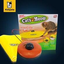 Chat Jouet Couvert Nylon Tissu Déménagement Souris Jeu Interactif Meow chat Jouet pour Chat Kitty Drôle De Luxe Creative Pet Chiot jouet