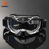 POSSBAY, Gafas de moto de esquí MX, Gafas de moto todoterreno, deportes al aire libre, Gafas de ciclismo, Gafas de Motocross