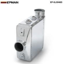 EPMAN-Универсальный Алюминий воды в воздух TURBO INTERCOOLER спереди крепление 250x220x115 мм вход/выход: 3.5 «EP-SL5046D