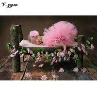 Foto Props Pasgeboren Fotografie Props Pasgeboren Fotografie Wraps Mooie Handgemaakte Tutu Hoofdband Baby Foto Props AccessoriesGZ058