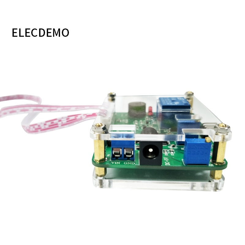 Image 4 - Voltage comparison relay module Upper and lower threshold detection alarm Overvoltage protection Charge and discharge Battery-in Demo Board Accessories from Computer & Office