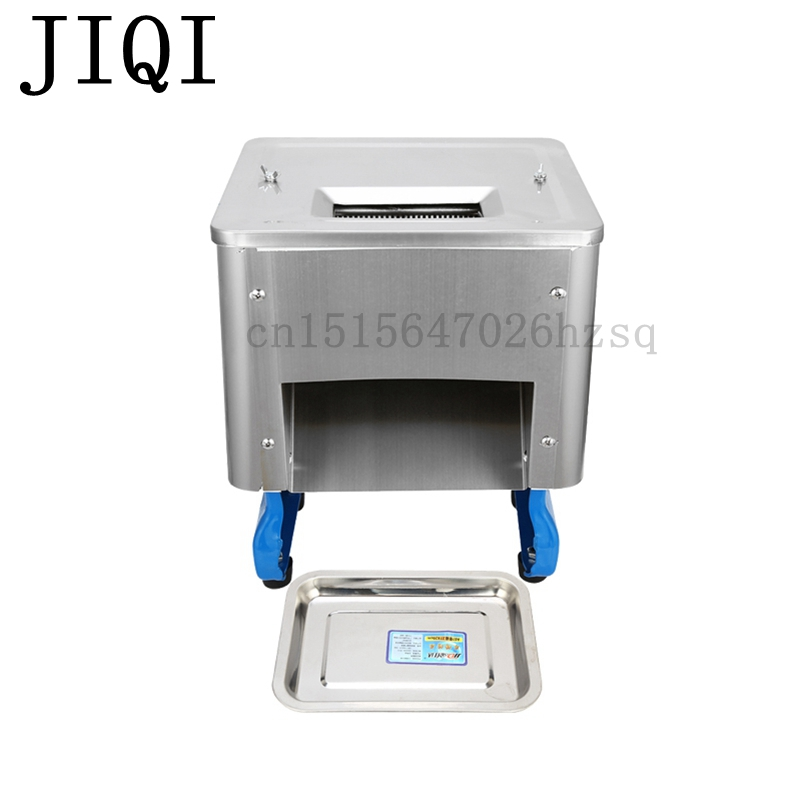 JIQI commercial electric Meat Grinders Multi-functional meat-cutting machine food slicing Diced meat cutting machine commercial automatic cutter stainless steel diced meat slicing machine wq 85 1