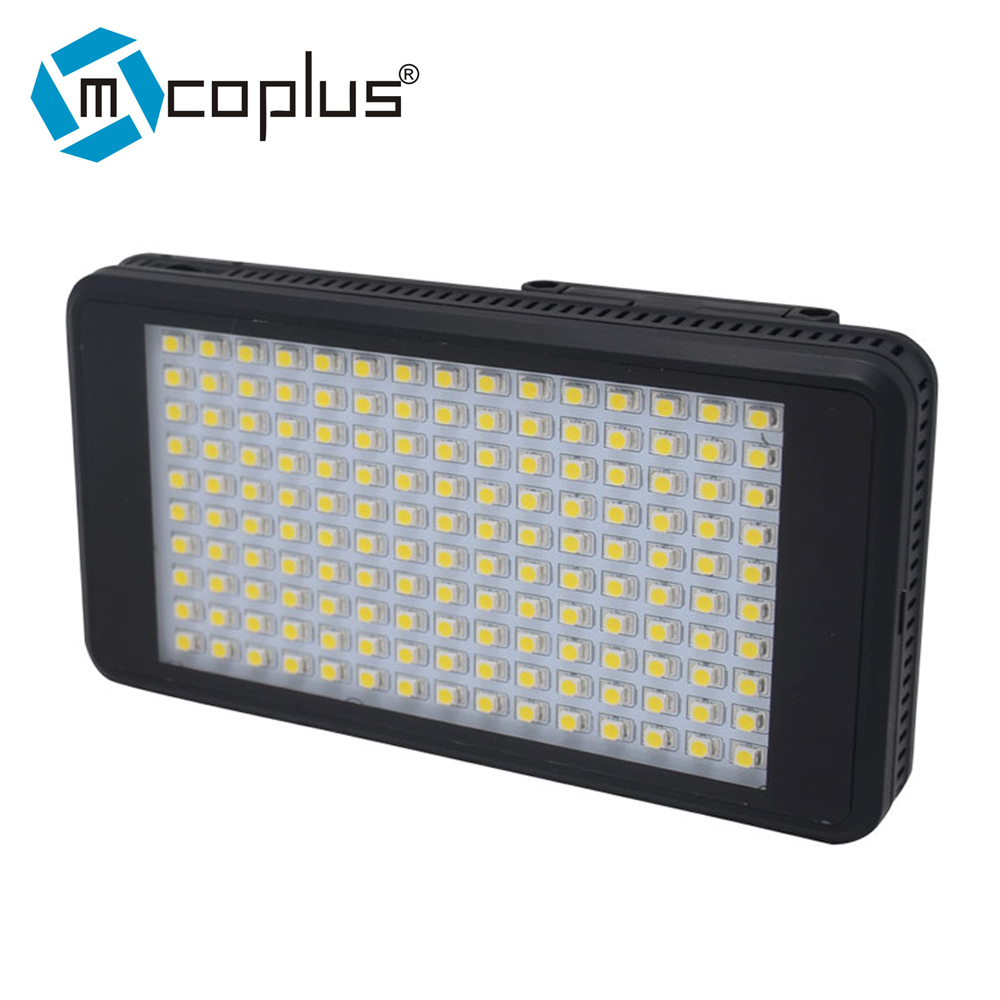 Mcoplus MCO-120 LED 비디오 라이트 캐논 니콘 소니 펜탁스 파나소닉 올림푸스 & DV 카메라 콤보