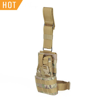 PPT 1000D Fabric 420D Waterproof Lining Nylon Webbing Gun Holster For Hunting Holster HS7-0075 фото