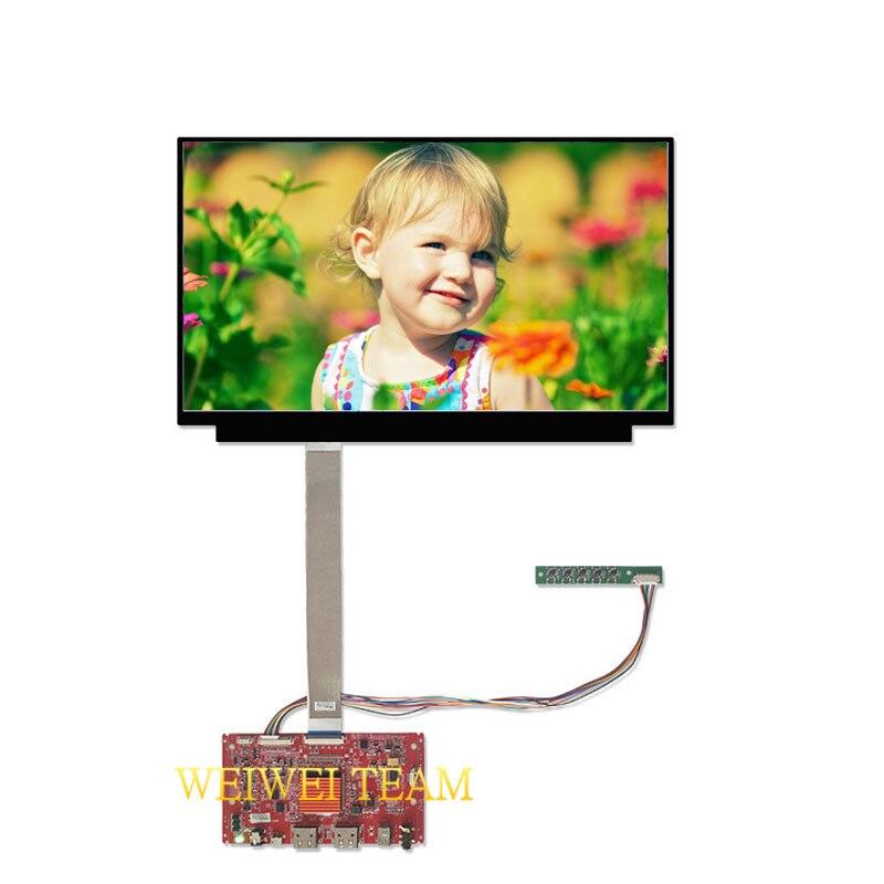 UHD 3840x2160 13.3 ''écran de remplacement pour ordinateur portable 4 k écran lcd IPS avec 2 cartes de contrôleur HDMI DP EDP 40 broches