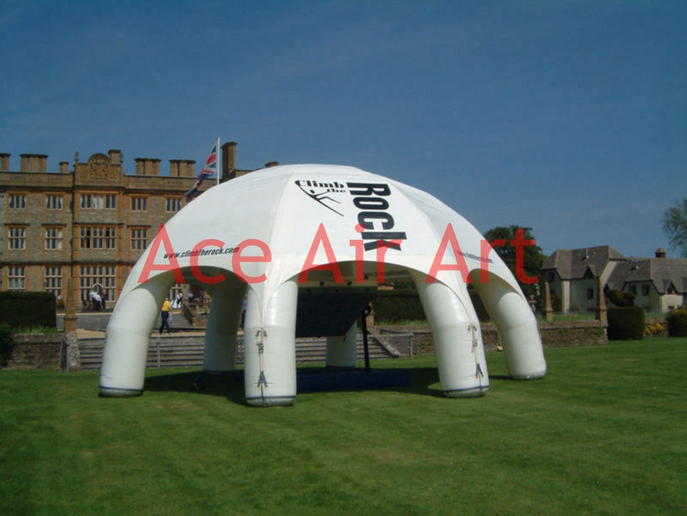 white inflatable party tent blow up dome tent for carnival personal activity inflatable mobile pub tent for family party use