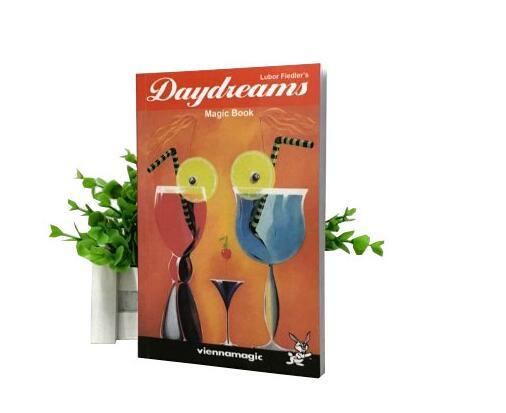 Free shipping Daydreams Magic Book Close Up Magic Tricks Comedy Props Illusion Mentalism Street Funny toys