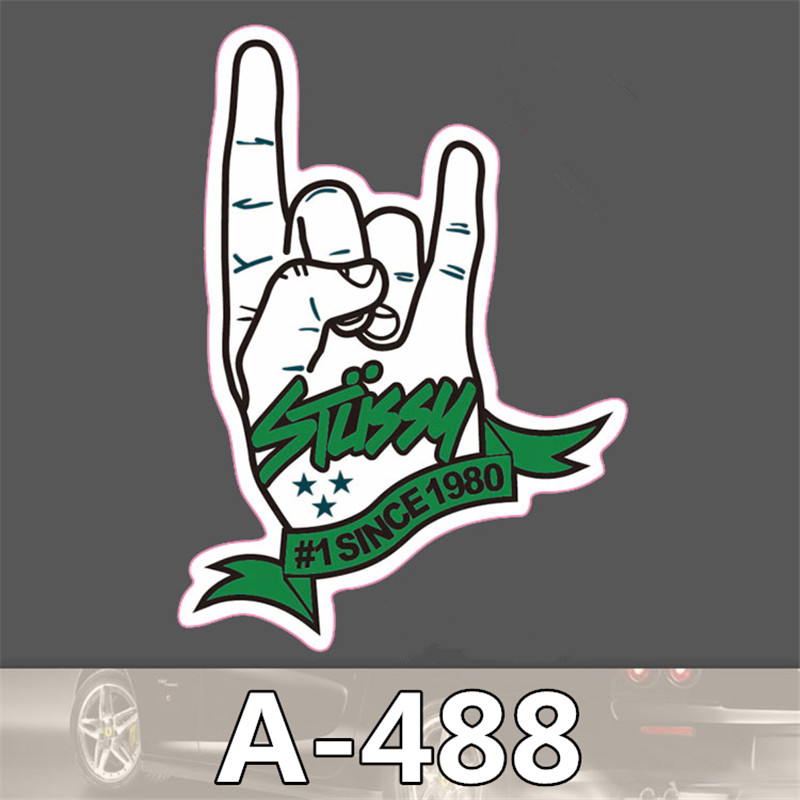 styling decor  sticker on auto laptop sticker decal motorcycle fridge skateboard doodle stickers  accessories A-488