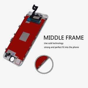 Image 2 - 10 adet sınıf AAA LCD ekran iPhone 6S için LCD değiştirme ve dokunmatik ekranlı sayısallaştırıcı grup ekran yok ölü piksel ücretsiz DHL