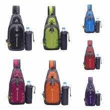 Сумка для бега на открытом воздухе, нагрудный рюкзак, сумка-мессенджер для планшета, походная спортивная сумка