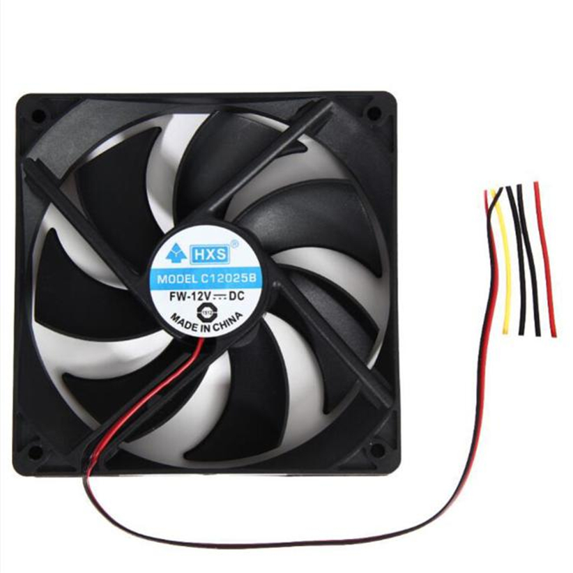 1pcs 120mm 120x25mm 12V 4Pin DC Brushless PC Computer Case Cooling Fan 1800PRM Futural Digital Dorp Shipping AUGG9 adroit new 1800prm 120mm 120x25mm 12v 4pin dc brushless pc computer case cooling fan jul26 drop shipping