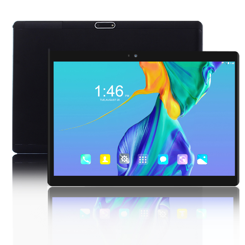 New 10 inch Tablet pc 4G LTE Smartphone 1920*1200 IPS 10 Core Android 8.0 RAM 6GB ROM 64GB 2.5D tempered glass tablets 10 10.1