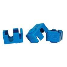 А funssor 3 шт. * Силиконовые носки для v6 PT100 hotend охватывает RepRap 3D части принтера нагреватель Блок силиконовый изоляции