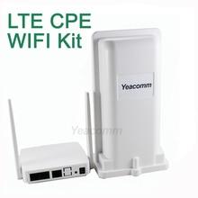 Бесплатная доставка! Yeacomm YF-P11K 4 г CPE WI-FI комплект Открытый LTE CPE и indoor WI-FI AP