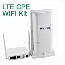 Frete grátis! Yeacomm kit cpe wifi externo YF-P11K 4g, cpe lte e wifi interno ap