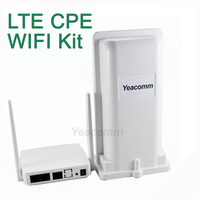 Free Shipping! Yeacomm YF P11K 4g CPE WIFI KIT outdoor LTE CPE and indoor WIFI AP
