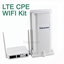 送料無料! Yeacomm YF P11K 4 グラム CPE 無線 LAN キット屋外 LTE CPE と屋内無線 lan AP