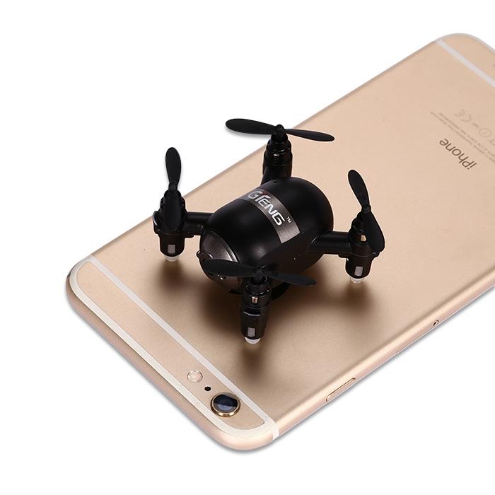 Prix pour Nouveau Arrivent RC GTeng T906W WiFi FPV 4CH 6 Axe Gyro à Commande Vocale Mini RC Quadcopter avec Suivez-moi