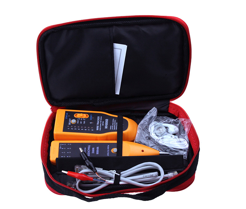 Hot Sell WH806B Telephone Wire Tracker Network Cable Tester For Cat5 Cat5E Cat6 RJ45 RJ11 Electrical Line Finding Testing
