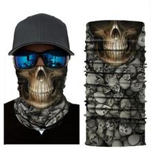 Biker Bandanas (5 pcs/lot) AC405-AC421 Outdoor Hat Cycling Turban Head Scarf Sports Face Mask