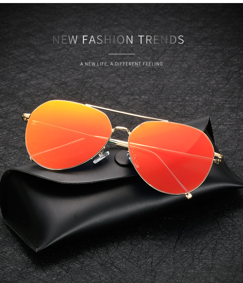 High Quality Aviation Reflector Sunglasses for Women