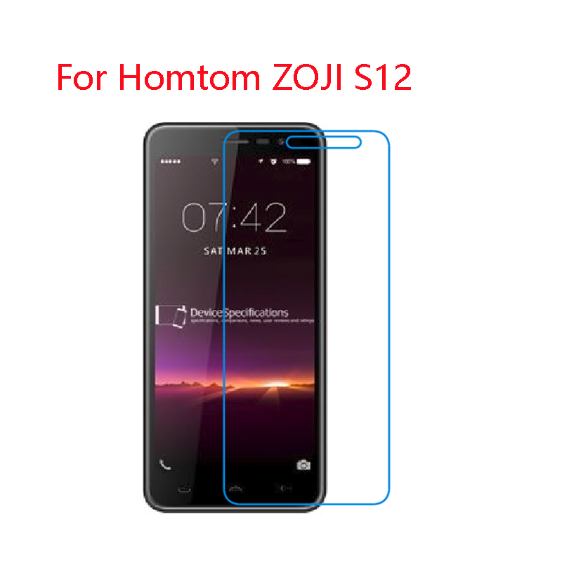 (2-Pack) 9H flexible glass screen protector For <font><b>HomTom</b></font> ZOJI S12,Z9,11,8,33,S99i,HT70,26,16,<font><b>10</b></font>,8,6,3 image